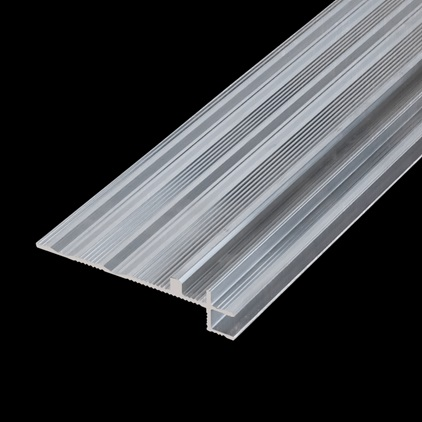 NEWINCPBASE Parquet Accessories Incizo Aluminium Subprofile For Stairs NEWINCPBASE3
