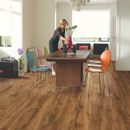 Natural Perspective Wide Laminate Reclaimed chestnut antique UFW1543