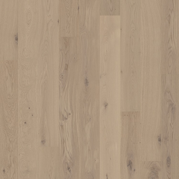 Light grey Compact Hardwood Oak Cobblestone grey extra matt COM3107