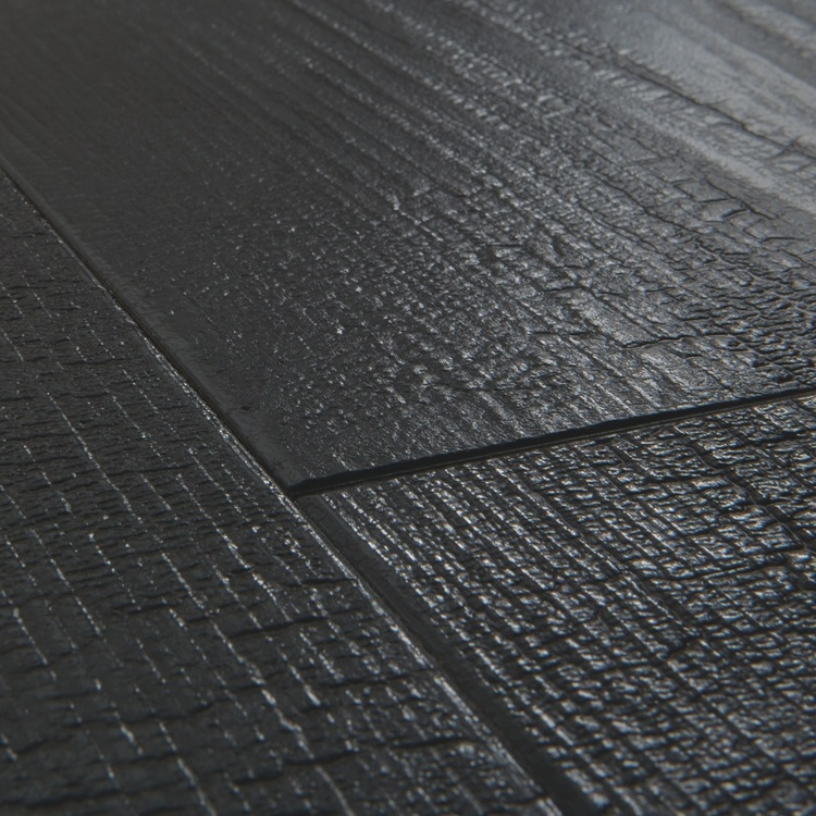 Black Impressive Ultra Laminate Burned planks IMU1862