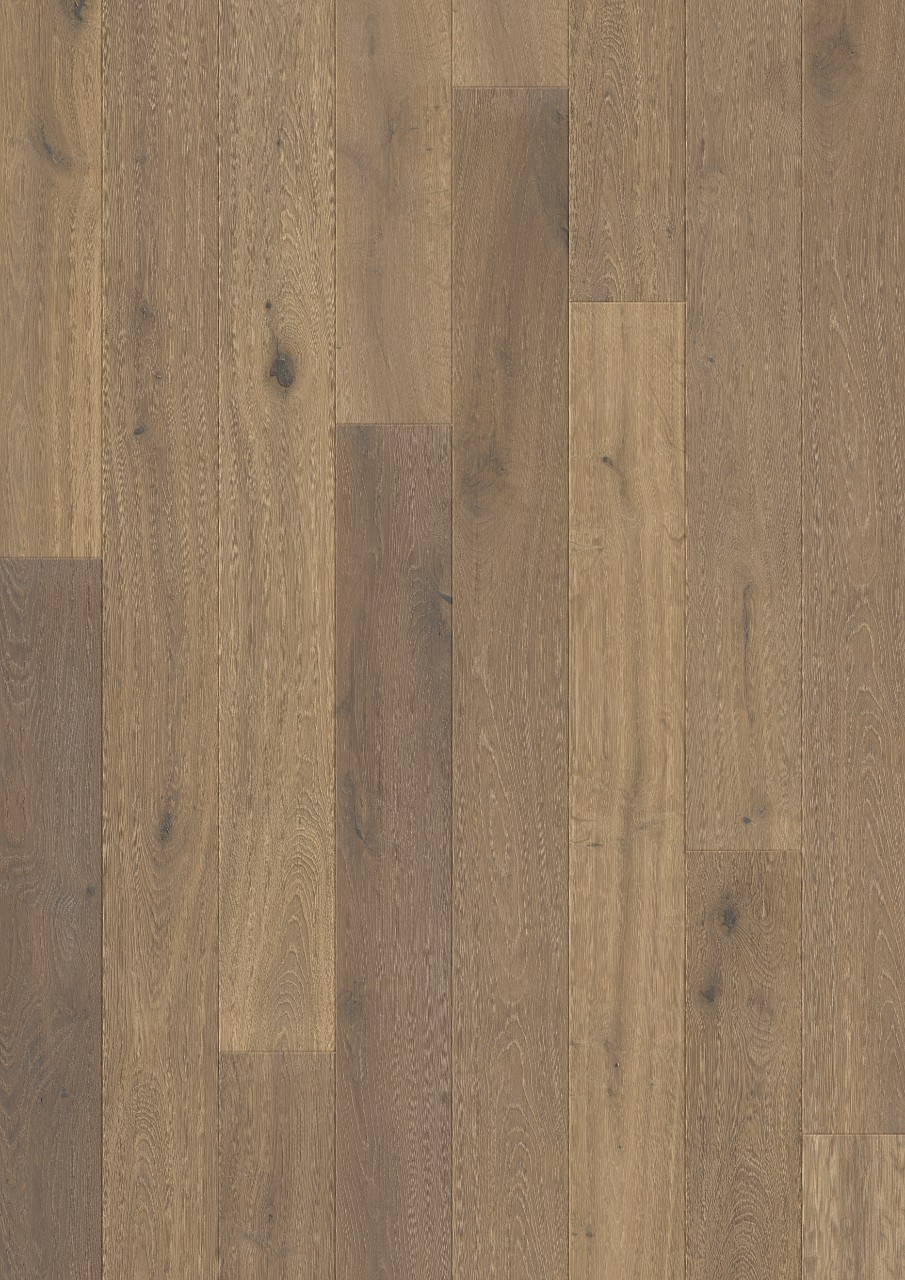 Dark brown Compact Parquet Nutmeg oak oiled COM3898
