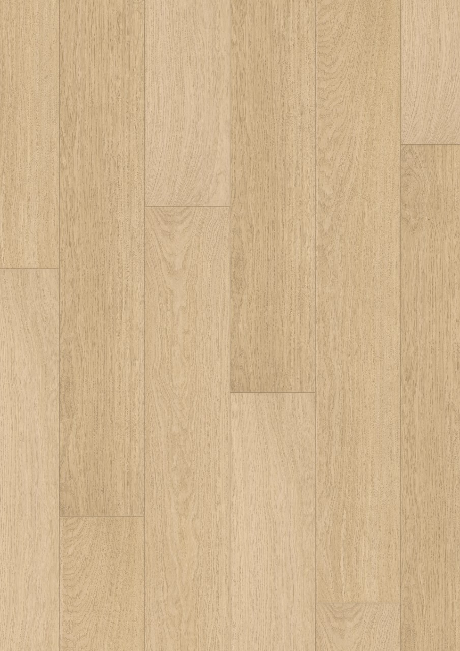 Im3105 white varnished oak beautiful laminate wood for Quick step flooring ireland