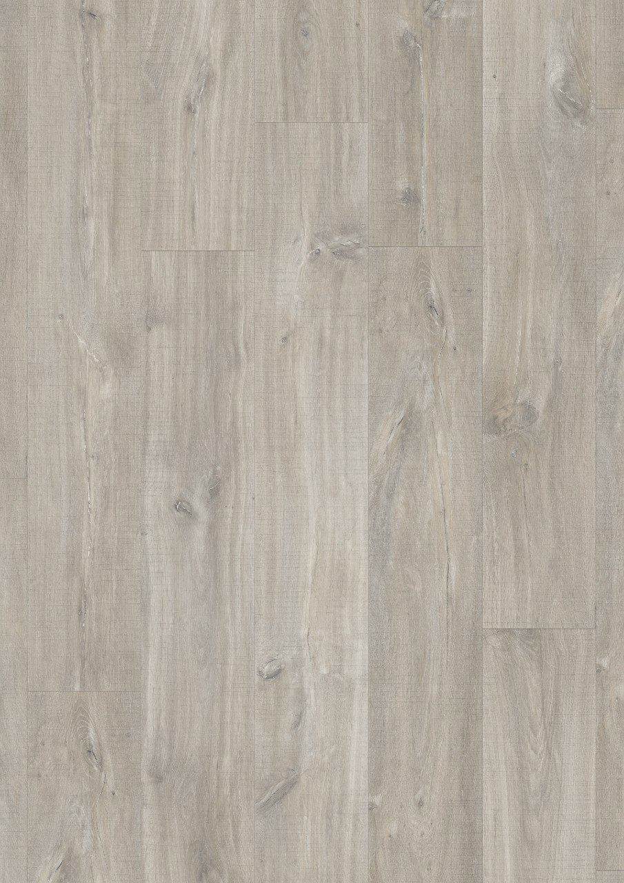Light grey Balance Rigid Click Vinyl Canyon oak grey with saw cuts RBACL40030