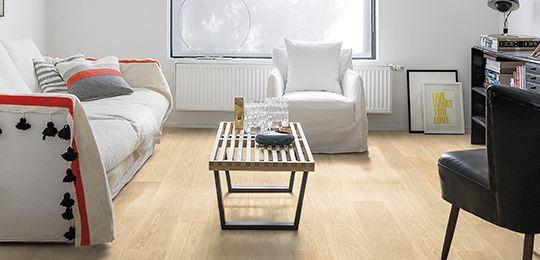 Floating laminate floors