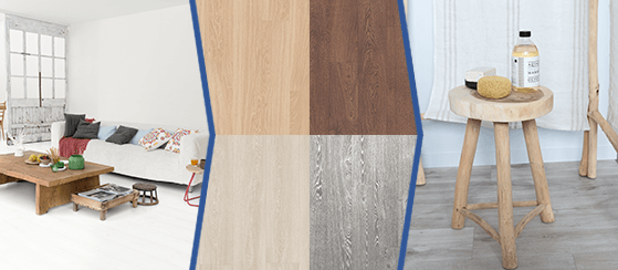 Варианты декоров и фото интерьеров с высококачественной паркетной доской Quick-Step для поиска вдохновения с FloorExplorer.