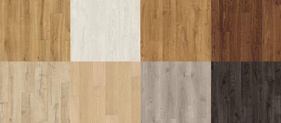 Dekory laminátových podlah