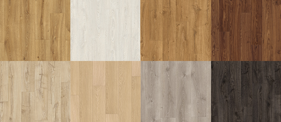 Laminate flooring designs