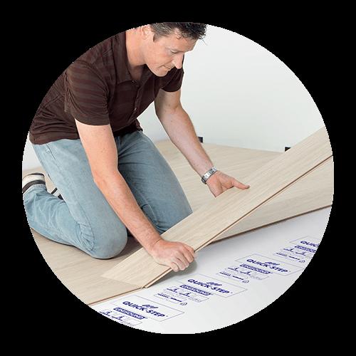 Preprosto polaganje laminatnih podov na klik