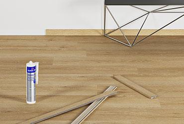 Ajoutez la finition parfaite à votre sol vinyl