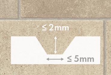 Rigid vinyl flooring for an irregular subfloor