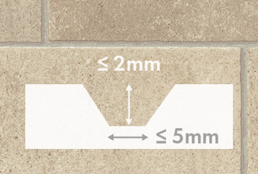 Rigid vinyl flooring for an irregular subfloor