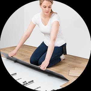 Vinyl flooring is ideal for renovation