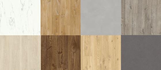 Vinyl flooring designs