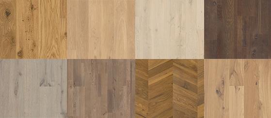 Dizajny podláh z listnatého dreva