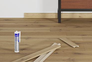 Dê o toque final perfeito ao seu pavimento de madeira dura