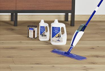 Worry-free maintenance with hardwood flooring