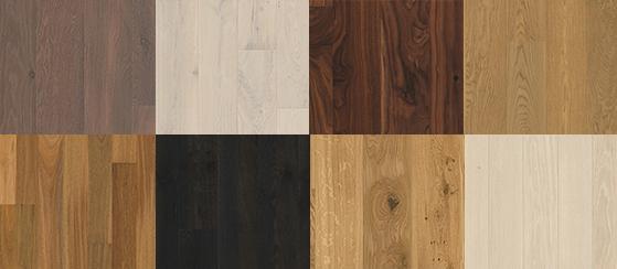 Hardwood flooring designs