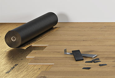 Easy to install  laminate flooring