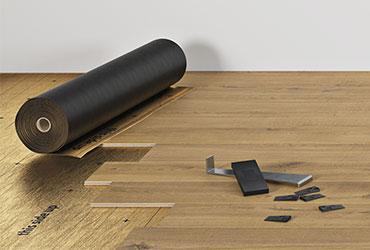 Pavimento in laminato facile da installare