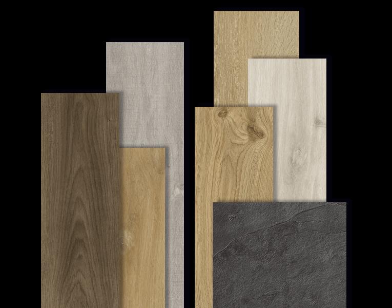 Vinyl planks & slabs