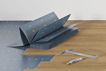 Easy to install vinyl flooring