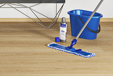 Worry-free maintenance with vinyl flooring