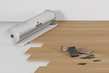 Easy to install timber flooring