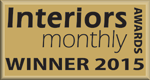 Interiors Monthly awards. Winner 2015