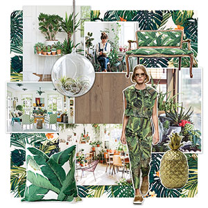 Bring the jungle trend into your home