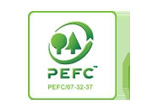 Green wooden flooring: PEFC-certified