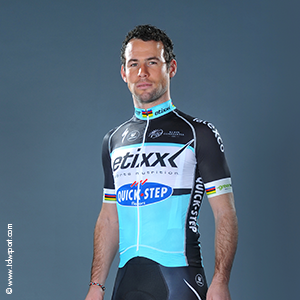 Mark Cavendish opts for stylish white