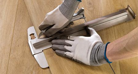 Mag ik quick step pvc vloeren snijden met een standaard stanley mes