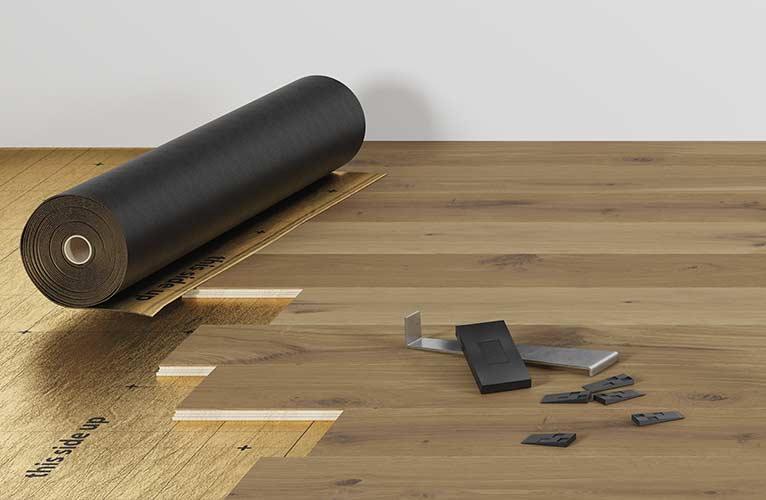 Instalación suelo de parquet