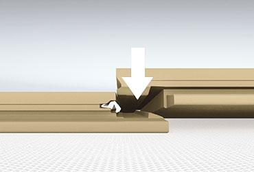 Comment poser un sol stratifi quick step quick for Comment poser un sol stratifie