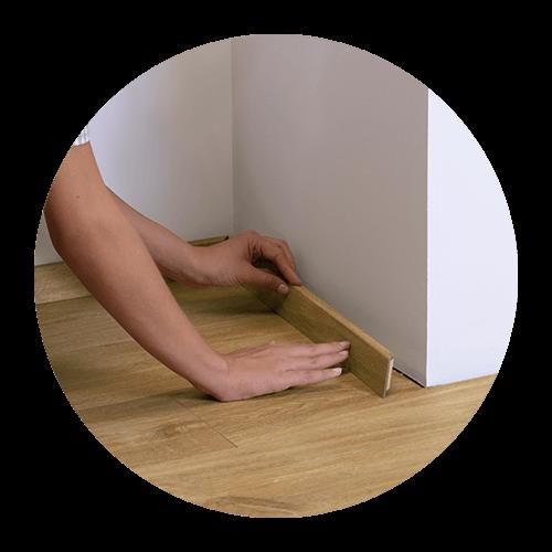 Een vinyl vloer is ideaal voor een renovatie