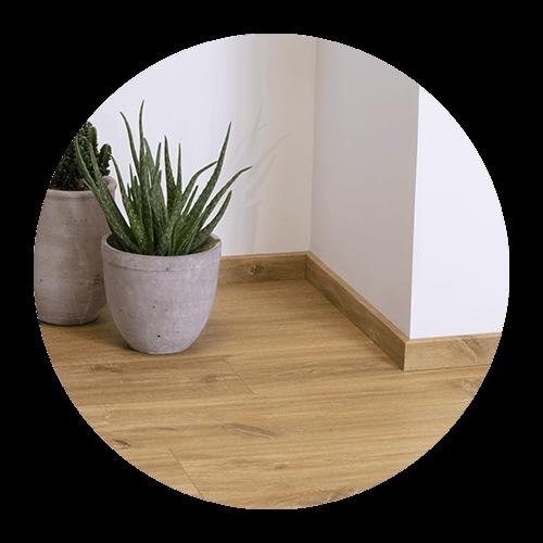 Підберіть плінтуси та профілі, які ідеально пасують до підлоги