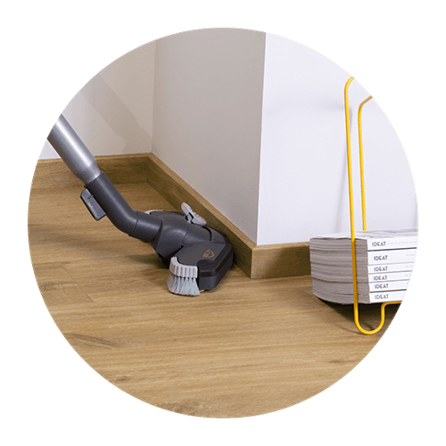 O piso de vinil é ideal para renovação