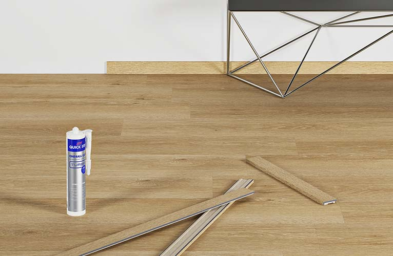 comment finir votre sol en vinyle de luxe quick. Black Bedroom Furniture Sets. Home Design Ideas
