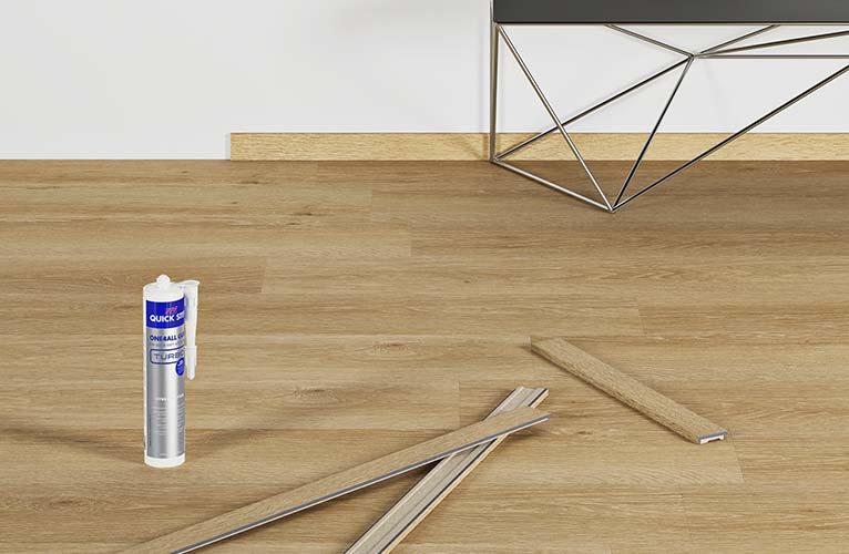 come rifinire il pavimento in vinile di lusso bellissimi pavimenti in laminato legno e vinile. Black Bedroom Furniture Sets. Home Design Ideas