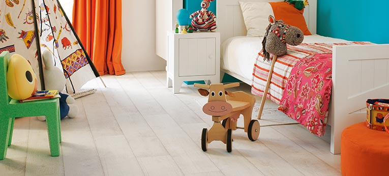 Quick-Step floors for a child's bedroom