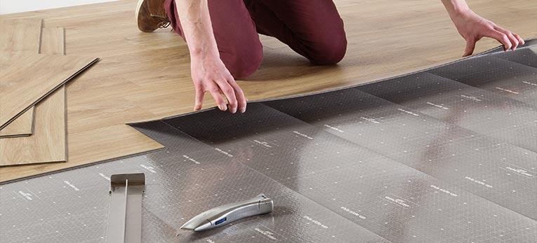 Top Wist je dat je nieuwe vloer gewoon bovenop de bestaande kan? AZ79
