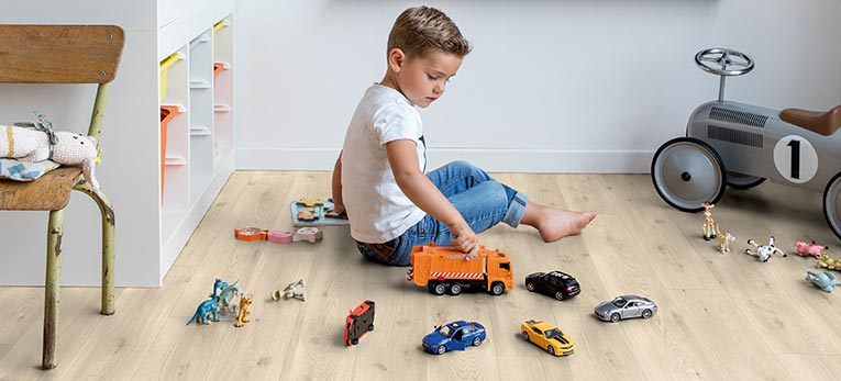 The perfect floor for your kids' playroom