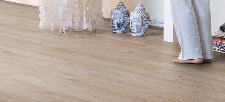 Quick-Step Hardwood on underfloor heating