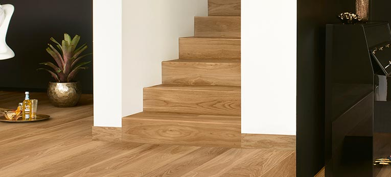 quick step parquet on your stairs quick. Black Bedroom Furniture Sets. Home Design Ideas