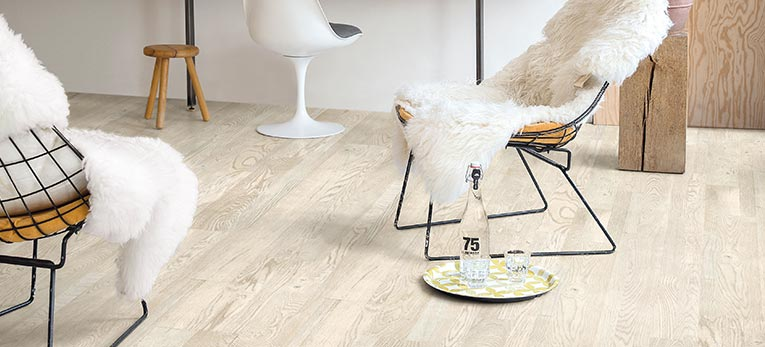 White Wooden Flooring Is Often The First Thing That Comes To Mind When You Picture A Scandinavian Interior And Absolutely Best Clic Point