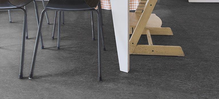 Quick-Step Exquisa slate Black Laminate Tiles