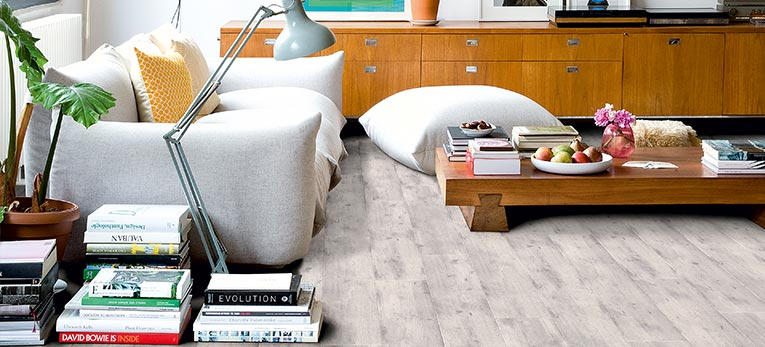 The raw look of concrete, the advantages of laminate