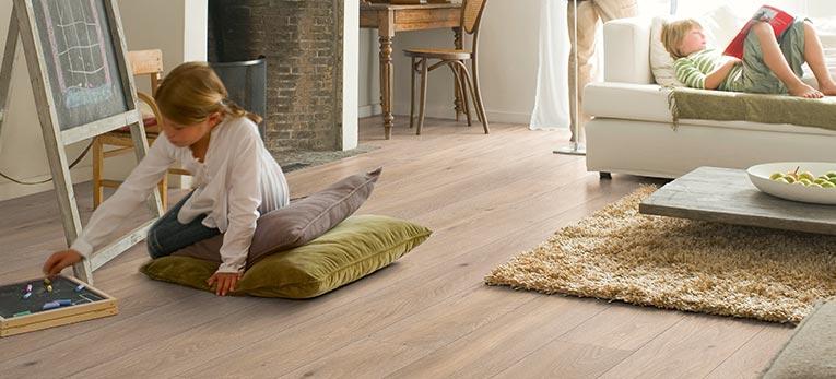 Quick-Step Quality laminate flooring