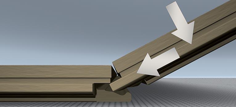 comment poser votre sol stratifi quick step. Black Bedroom Furniture Sets. Home Design Ideas