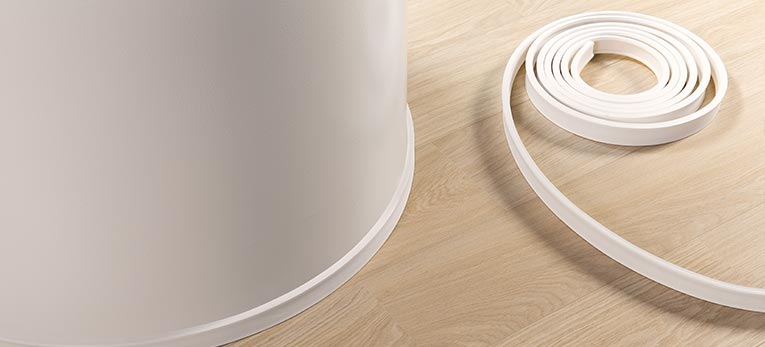 Quick Step Presents Top Notch Flexible Skirting Boards Beautiful
